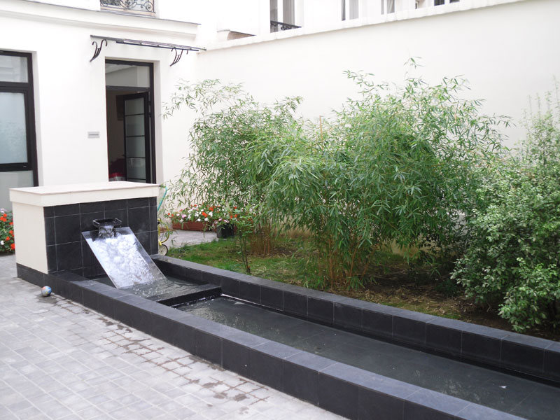 paysagiste paris 10 amenagement exterieur courette malakoff. Black Bedroom Furniture Sets. Home Design Ideas