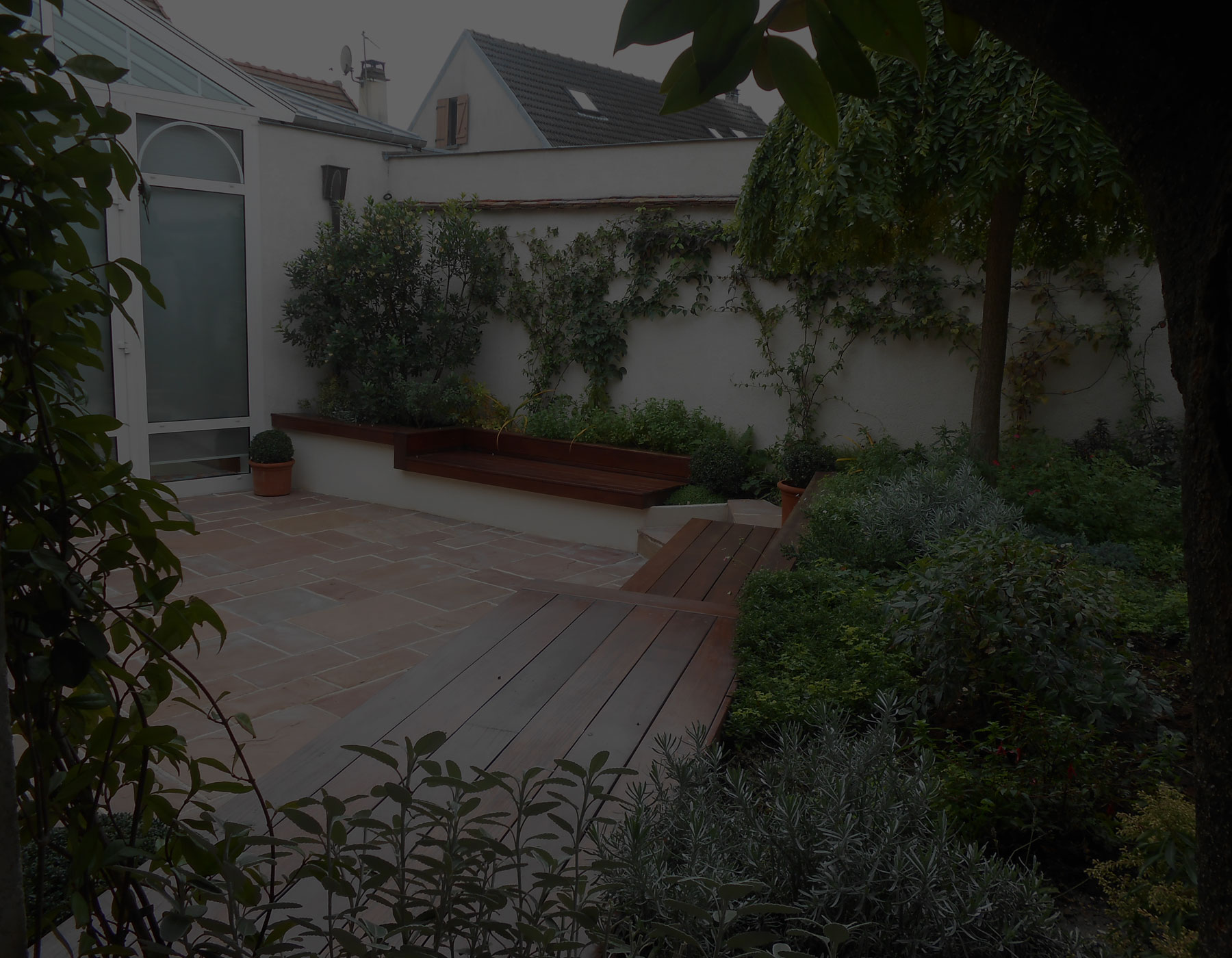 Paysagiste paris 10 cr ation am nagement jardin boulogne billancourt - Amenagement jardin maison contemporaine boulogne billancourt ...