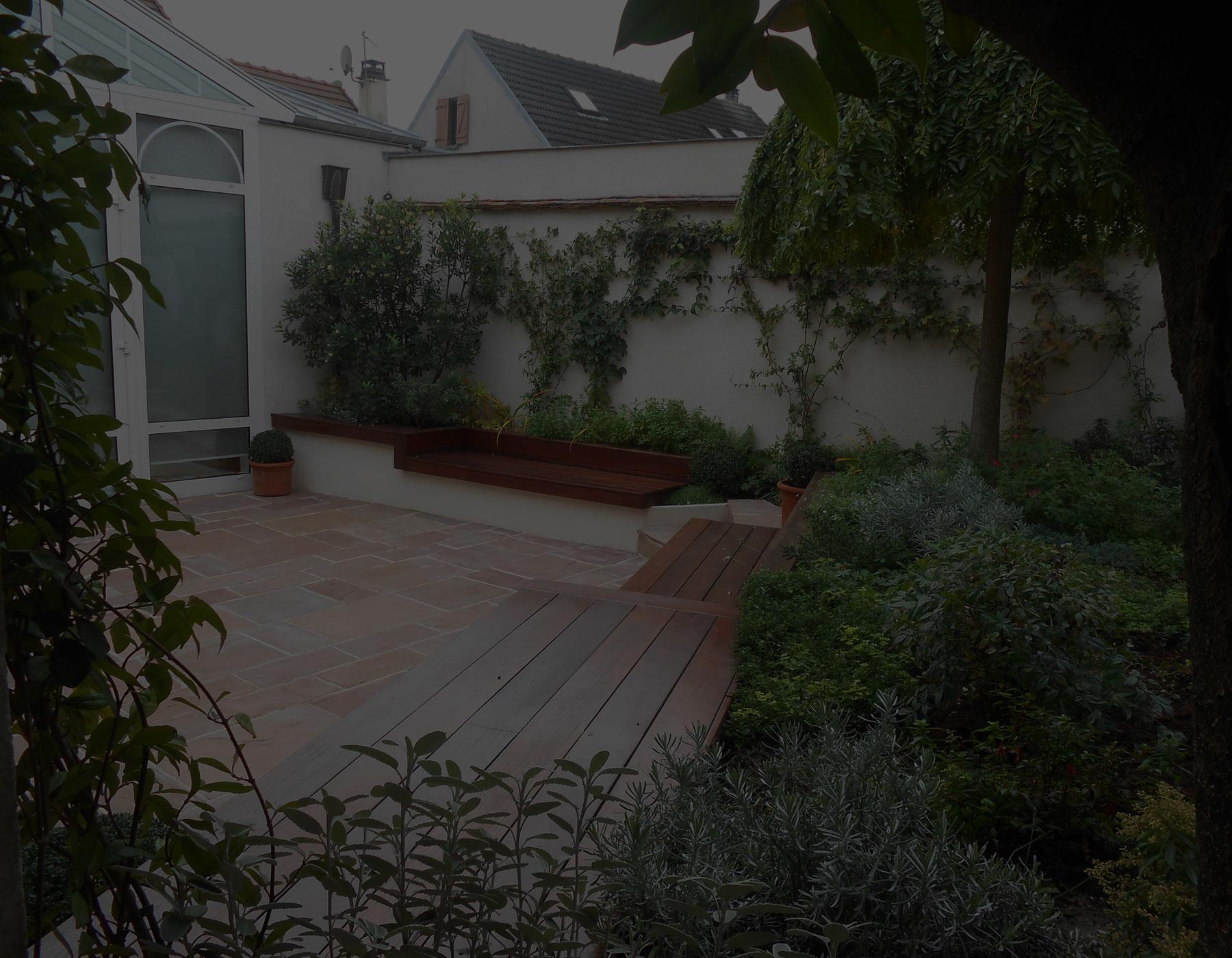 Paysagiste paris 10 cr ation am nagement jardin boulogne - Castorama deco jardin boulogne billancourt ...