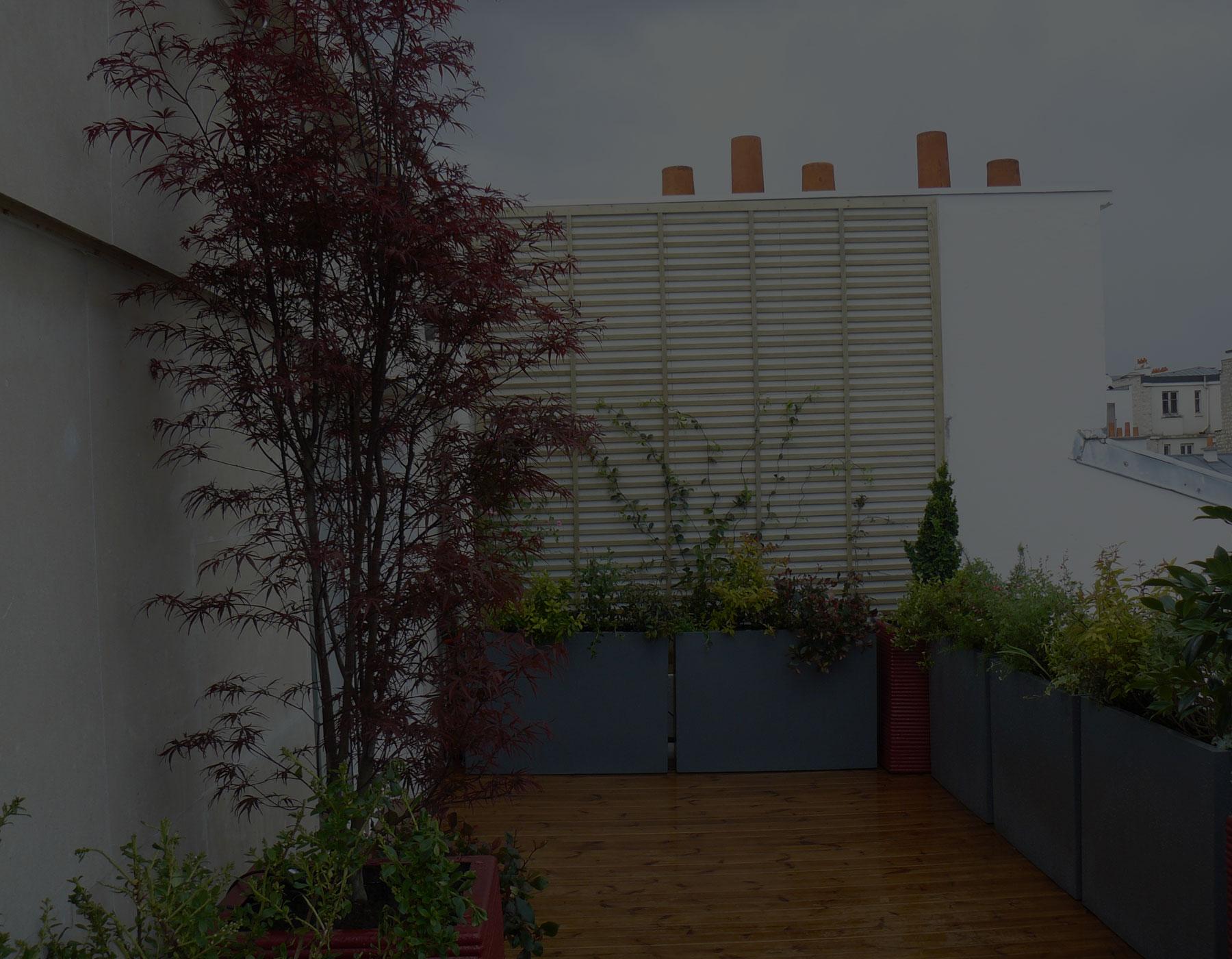 Paysagiste paris 10 cr ation am nagement jardin boulogne billancourt - Deco jardin mineral boulogne billancourt ...