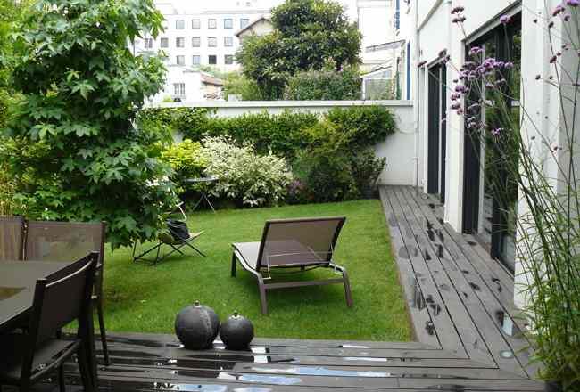 Paysagiste boulogne billancourt am nagement jardin contemporain paris 10 - Amenagement jardin maison contemporaine boulogne billancourt ...